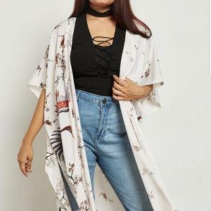 Silky Kimono size 1x nwt